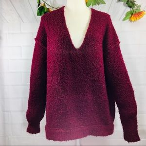 Free People Oversize Sweater small